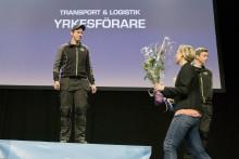 Herman Borring vann Yrkes-SM för unga Yrkesförare