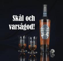 Premiär för nytt svenskt Whiskydestilleri.      Gotland Whiskys första flaskor Isle of Lime klara för beställning.