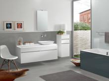 Faites de la place dans votre salle de bains : avec les solutions gain de place intelligentes de Villeroy & Boch