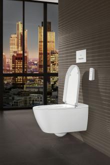 Design-Revolution in Sachen Dusch-WC –  ViClean-I 100 kombiniert Purismus mit Technik und Komfort