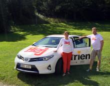 Toyota ökar stödet till Friends i kampen mot mobbning