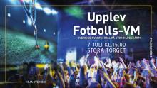 Sveriges VM-kvartsfinal på storbildsskärm