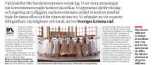 """13 kyrkoledare på DN debatt: """"Barnkonventionen får inte bli hinder för barns religion"""""""