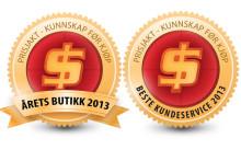 SIBA er Årets beste butikk 2013