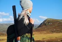 Stadig flere kvinner på jakt