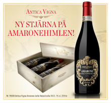Antica Vigna Amarone - premiär för en ny stjärna!