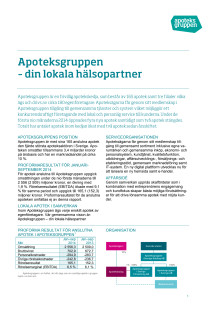 Delårsrapport jan - sep 2014