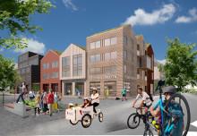 Riksbyggen uppför 155 bostäder i Norrtälje Hamn