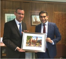 ​​Israeli ambassador meets council leader