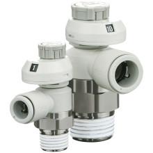 SMC presenterar nästa generation cylindermonterade strypbackventiler