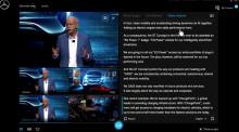 Mercedes direktsänder från Frankfurt i ny mediaplattform