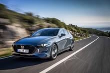 Nya Mazda3 tilldelas 5 stjärnor i Euro NCAP