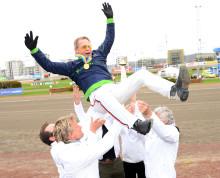 Segerfest när Ringostarr Treb vann Olympiatravet 2018