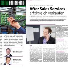 After Sales Services erfolgreich verkaufen - doch wie? Fachartikelveröffentlichung im DIGITAL ENGINEERING MAGAZIN