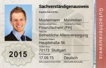 Neuer, fälschungssicherer DGSV Sachverständigenausweis ab 1. Januar 2015 erhältlich!