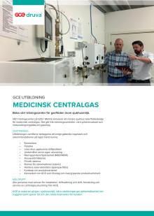 GCEs utbildning i medicinsk centralgas