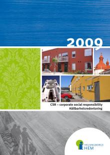 Hållbarhetsredovisning 2009