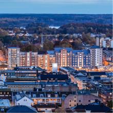 Kvarteret Pilgrimen i Växjö tilldelas byggnadspris