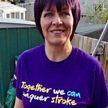 Donna's close shave inspires Skipton pub fundraiser for the Stroke Association