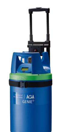 Saltängen satsar på en bättre arbetsmiljö med GENIE® gasflaska från AGA
