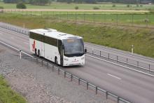 Färre bussturer från måndagen 6 april