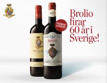 Brolio firar 60 år i Sverige!