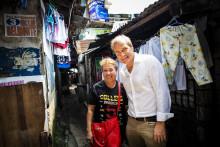 Svenskt miljonprogram får jämställt, grönt syskon i Filippinerna