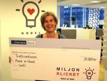 Hand in Hand slår rekord i God El kampanjen Miljonklicket