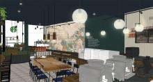 Pressinbjudan till öppningen av Starbucks första butik i Uppsala