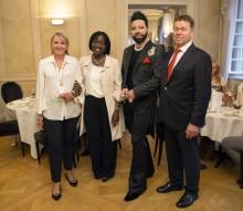 Charity-Dinner im Schloss Solitude