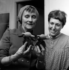 New collaborative project:  World famous ceramic designer Lisa Larson makes new Astrid Lindgren figures