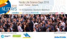 Pressinbjudan: Nordic Life Science Days 2016