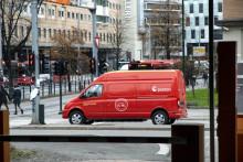 Posten med utslippsfri bedriftspakkelevering i Oslo sentrum