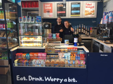 Station refreshed: new coffee and snack bar for Haywards Heath