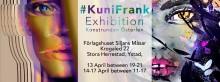 #KuniFrank presenterar Wild Warrior Girl – experimentell konst på metall under Konstrundan Österlen