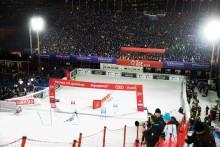 Publikrekord när Alpina tävlingar arrangerades i Hammarbybacken