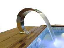Nytt swimspa och spännande pool- och spabadstillbehör