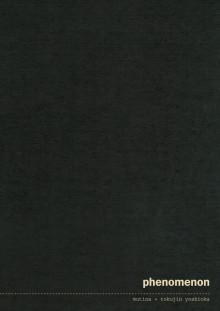 Katalog Centro Designers, Serie PHENOMENON (Tokujin Yoshioka)