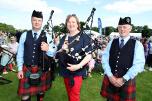Mid and East Antrim comes alive to the sounds of the best pipe bands on the plant