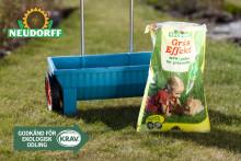 Krav-märkta GräsEffekt – för en naturligt grön gräsmatta