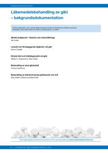 Läkemedelsbehandling av gikt - bakgrundsdokumentation