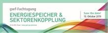 """gwf-Fachtagung """"Energiespeicher & Sektorenkopplung"""""""