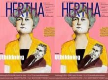 Nytt nummer av världens äldsta feministiska tidskrift Hertha