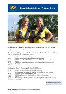 Program slussvärdsutbildning Motala + Sjötorp, Västergötland