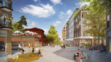 Bostäder och handel i nytt centrumförslag