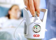MediVitop - Kombinationsventil med patenterad gemensam flödesväljare och kontrollvred