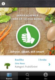 Mat från svenska bönder är schysst för dig, säker för alla och smart för Sverige