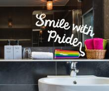 Smile with Pride tillsammans med Scandic och QX