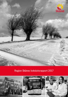 Bokslutsrapport från Region Skåne 2017