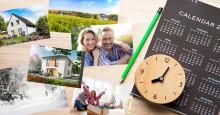 Wann ist der beste Zeitpunkt für den Hausbau?